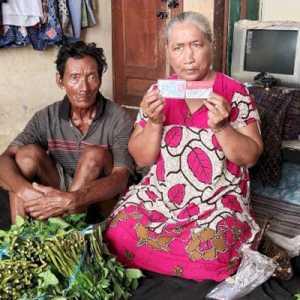 Kesedihan Pasutri Lansia Di Tuban Yang Tercoret dari Program BPNT