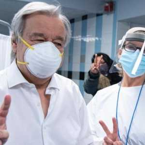 Sekjen PBB Antonio Guterres Telah Disuntik Vaksin Virus Corona: Saya Beruntung!