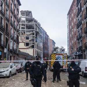 Ledakan Gas Dahsyat Guncang Madrid, Empat Orang Tewas