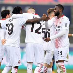 Lolos Dari Lubang Jarum, Milan Lanjutkan Tren Kemenangan Tandang