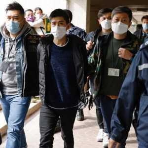 AS-Kanada-Inggris-Australia Bersatu Kutuk Penangkapan Puluhan Aktivis Pro-Demokrasi Hong Kong