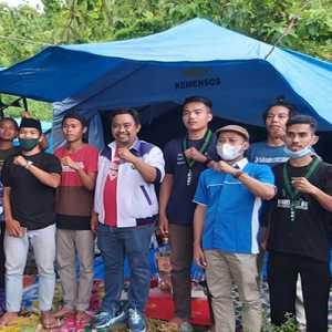KNPI Gandeng Organisasi Kampus Salurkan Bantuan Korban Gempa Majene