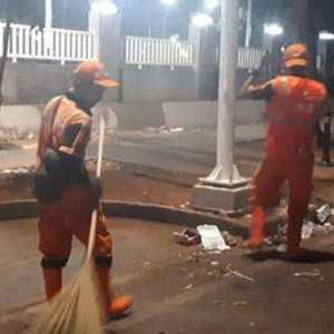 Tanpa Ada Keramaian, Volume Sampah Malam Tahun Baru Di Jakarta Turun Drastis