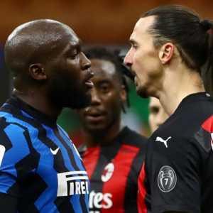 Derby Milan: Kartu Merah Ibrahimovic, Wasit Cedera, Inter Menang 2-1