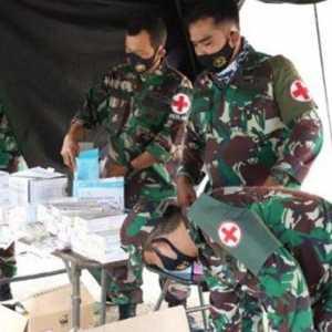 TNI AD Bangun RS Darurat Untuk Korban Gempa Dilengkapi Kamar Operasi Hingga Ruang ICU