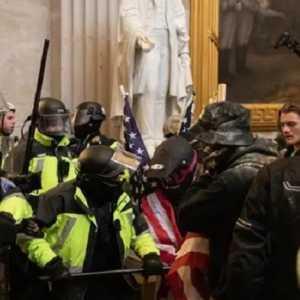 Gagal Amankan Gedung Parlemen, Kepala Polisi Capitol AS Mengundurkan Diri