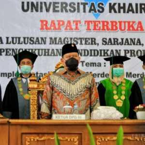 Ketua Senator Berharap Lahir Pemimpin Unggul Masa Depan Dari Universitas Khairun