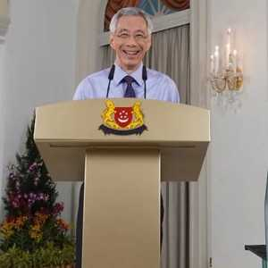 Sambut 2021, PM Singapura: Sekarang Kita Bisa Lihat Cahaya Di Ujung Terowongan