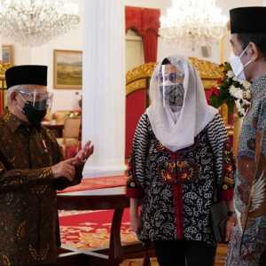 Dampingi Jokowi Luncurkan Gerakan Wakaf Uang, Maruf Amin: Potensinya Mencapai Rp 180 Triliun