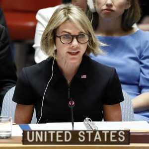 Sempat Dikecam China, Dubes AS Untuk PBB Kelly Craft Batal Kunjungi Taiwan