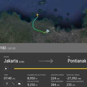 Bupati Kepulauan Seribu Benarkan Ada Laporan Pesawat Meledak Di Pulau Laki