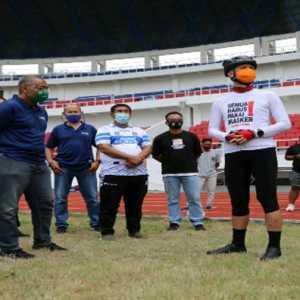 Stadion Jatidiri Layak Dipakai Latihan, Gubernur Jateng: Siapapun Bisa Pakai