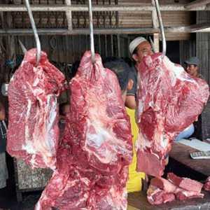 Lima Hari Mogok Jualan, Dini Hari Nanti Pedagang Daging Sapi Jualan Lagi