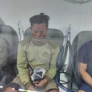 Merasakan Sensasi Menyelam Tanpa Basah Di Tabung Chamber Milik Yon Taifib TNI AL