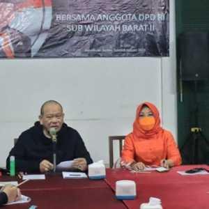 Dipimpin LaNyalla, Konsolidasi DPD Barat II Banyak Membahas Kelangkaan Pupuk Subsidi