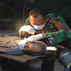 RS Darurat TNI AD Beroperasi, Tampung Puluhan Korban Gempa Sulbar