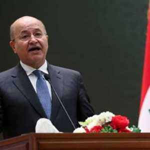 Bom Kembar Di Irak Tewaskan 32 Orang, Presiden Barham Salih: Ada Kelompok Yang Kacaukan Pencapaian Negara