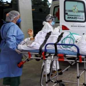 Kehabisan Oksigen, Kematian Pasien Covid-19 Di Amazon Brasil Melonjak