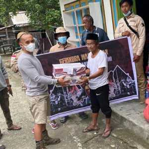 Kader Muda Gerindra Bergerak Bantu Korban Gempa Di Majene