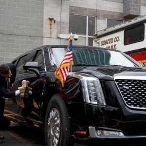 Mobil Garang Tunggangan Presiden Joe Biden Punya Fasilitas Telepon Satelit Khusus Ke Pentagon