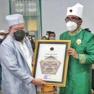 Diberi Gelar Kehormatan, Ketua DPD LaNyalla: Kejayaan Tidore Tidak Boleh Dilupakan