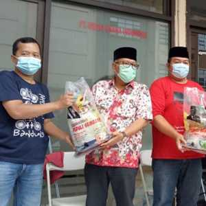 JMSI Banten Dapat Kepercayaan Anggota DPR Salurkan Sembako Untuk Jurnalis