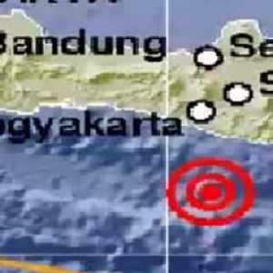 Gempa Magnitudo 5,0 Guncang Gunungkidul, Tidak Berpotensi Tsunami