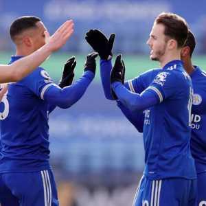 Cetak 3 Gol Balasan Dalam 7 Menit, Leicester Sukses Coreng Wajah Jurgen Klopp