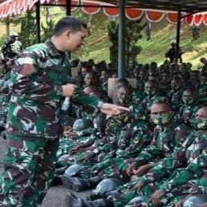 Seribu Calon Bintara Asli Papua Mulai Jalani Pendidikan Di Pulau Jawa