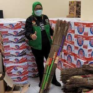 PPP Peduli Salurkan Bantuan Makanan Hingga Alat Kebersihan Untuk Korban Banjir Jabodetabek