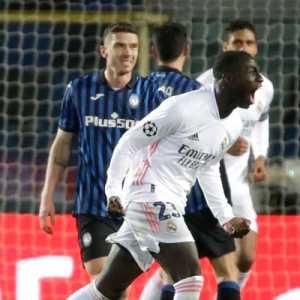 Lawan 10 Pemain Atalanta Selama 73 Menit, Madrid Menang 1-0 Dengan Susah Payah