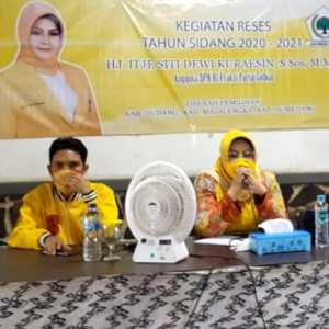 Legislator Golkar Dorong Para Perempuan Jadi Garda Terdepan Pembangunan