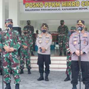 Di Sleman, Panglima TNI Dan Kapolri Cek Kesiapan Posko PPKM Mikro Covid-19