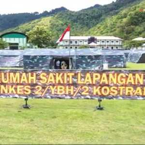 RS Lapangan Bagi Korban Gempa Sulbar Dilengkapi Water Treatment Hingga Internet