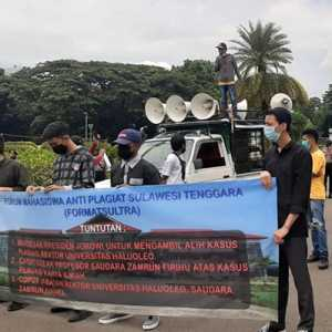 Geruduk Istana, Format Minta Kasus Plagiarisme Rektor UHO Diselesaikan