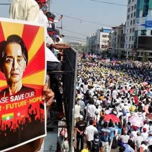 Taiwan Sesalkan Kematian Dua Pendemo Akibat Tindakan Keras Aparat Myanmar