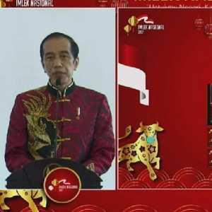 Bersama Maruf Amin, Istri Gus Dur Hingga Wapres Ke-6, Jokowi Ikut Rayakan Imlek Nasional 2021