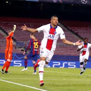 Hattrick Mbappe Permalukan Messi Di Camp Nou