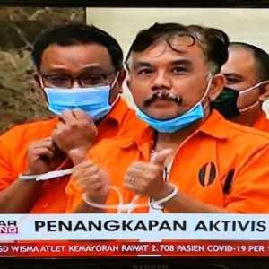Pidato Jokowi Sebatas Basa-basi, Buktinya Syahganda Dan Jumhur Ditangkap