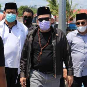 Corona Melonjak Di Sulbar, Ketua DPD RI Minta Ada Ruang Isolasi Di Pengungsian