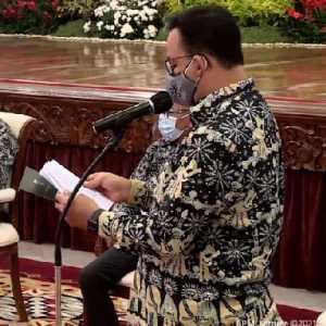 Di Hadapan Jokowi, Anies Umumkan Ranking Kemacetan Di Jakarta Membaik