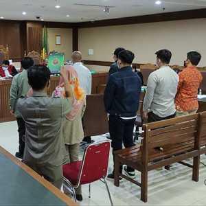 Hadir Semua, Ini Tujuh Saksi JPU Pada Sidang Kasus Korupsi Izin Ekspor Benur