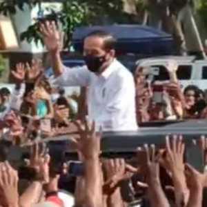 Nah Lho, Pak Jokowi Mau Dipolisikan Gegara Buat Kerumunan Di Maumere