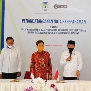 Gandeng Tatalogam Group, KITA Siap Bangun Rumah Instan Permanen