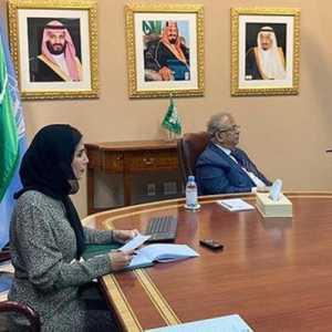 Bahas Penigkatan Kerja Sama, Utusan Saudi Bertemu Dengan Eksekutif Wanita PBB Di New York