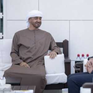 Bahas Pemerintahan  Baru, PM Lebanon Bertemu Putera Mahkota Abu Dhabi Sheikh Mohammed bin Zayed