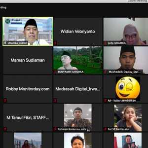 Silaturahmi Bersama Media, Rektor Uhamka Ingin Informasi Kampus Sampai ke Masyarakat