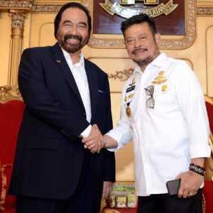 Ketua Joman: Sebelum Direshuffle, Menteri Nasdem SYL Lebih Baik Mundur