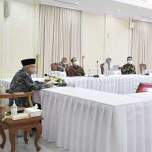 Dari Balik Meja, Maruf Amin Minta Roadmap Reformasi Birokrasi Dievaluasi