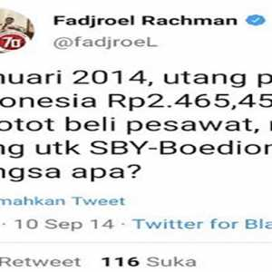 Fadjroel Kritik Bernada Fitnah Kepada SBY, Ossy Dermawan: Tapi Tak Dimasalahkan Aparat Saat Itu